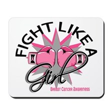 Licensed Fight Like a Girl 12.3 Mousepad