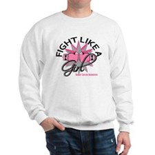 Licensed Fight Like a Girl 12.3 Sweatshirt