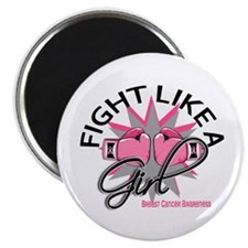 Licensed Fight Like a Girl 12.3 Magnet