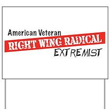 American Veteran Yard Sign