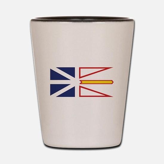Newfoundland and Labrador Shot Glass