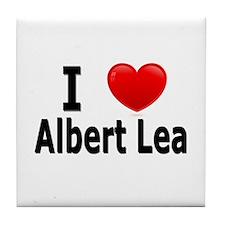 I Love Albert Lea Tile Coaster