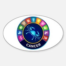 Cancer Sign Decal