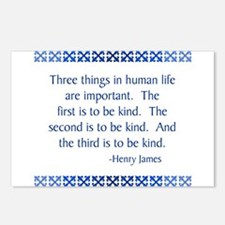 Three Things Postcards (Package of 8)