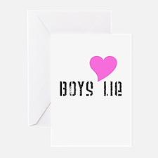 Boys Lie Greeting Cards (Pk of 10)