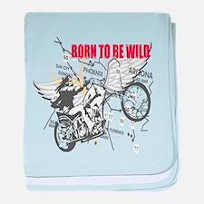 Bikers baby blanket