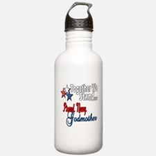 Navy Godmother Water Bottle