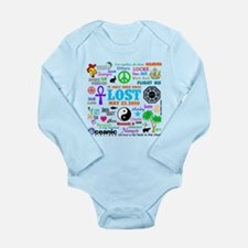 LOST Memories Long Sleeve Infant Bodysuit