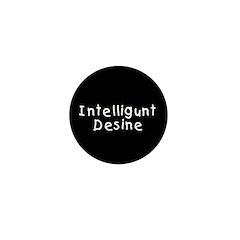Intelligunt Desine Mini Button (10 pack)