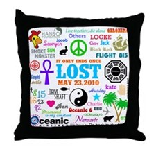 LOST Memories Throw Pillow
