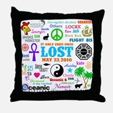 LOST Memories Throw Pillow