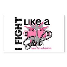 Licensed Fight Like a Girl 13. Decal