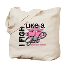 Licensed Fight Like a Girl 13.1 Tote Bag