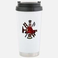 Stainless Steel Travel Mug Firefighter Graphic Sym