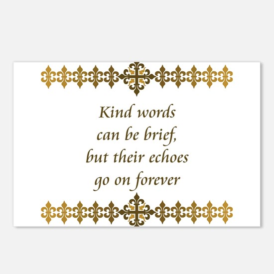 Kind Words Postcards (Package of 8)