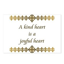 Kind Heart Postcards (Package of 8)