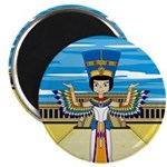 "Egyptian Queen Nefertiti 2.25"" Magnet (100 pa"