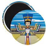 """Egyptian Queen Nefertiti 2.25"""" Magnet (10 pac"""