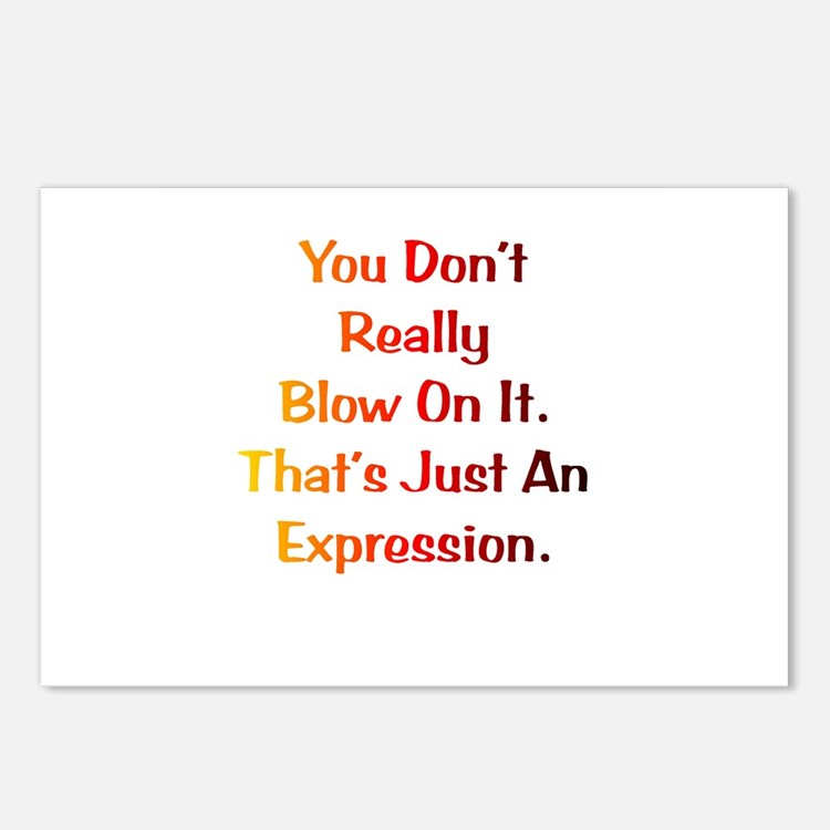 An Expression Gift Postcards (Package of 8)