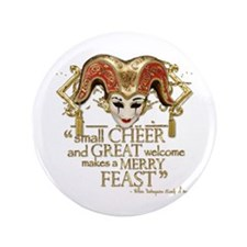 """Comedy of Errors Quote 3.5"""" Button (100 pack)"""