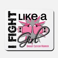 Licensed Fight Like a Girl 13.2 Mousepad