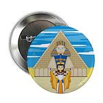 "Egyptian Queen Nefertiti 2.25"" Button (10 pac"