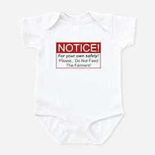 Notice / Farmers Infant Bodysuit