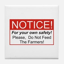 Notice / Farmers Tile Coaster