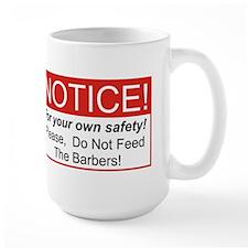 Notice / Barber Mug