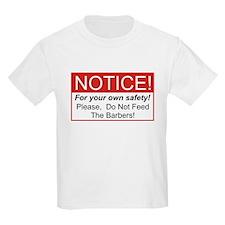 Notice / Barber T-Shirt