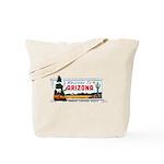 Welcome To Arizona Tote Bag