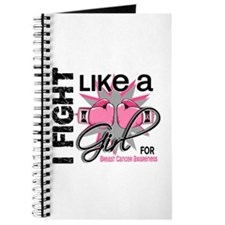 Licensed Fight Like a Girl 13.5 Journal