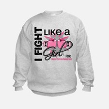 Licensed Fight Like a Girl 13.5 Sweatshirt