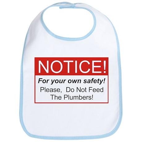 Notice / Plumbers Bib