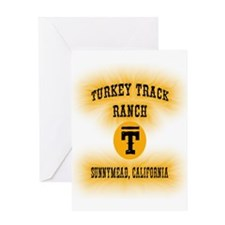 Turkey Track Ranch Greeting Card