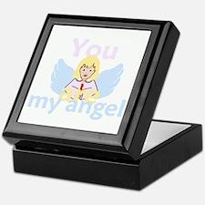 You Are My Angel Keepsake Box