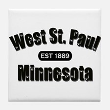 West St. Paul Established 1889 Tile Coaster
