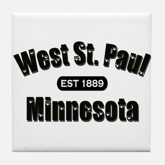 West St. Paul Established 1889 Tile Coaster