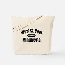 West St. Paul Established 1889 Tote Bag