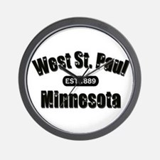 West St. Paul Established 1889 Wall Clock