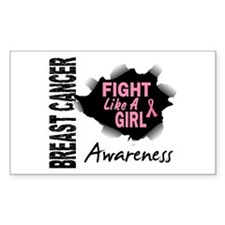 Licensed Fight Like a Girl 14. Decal
