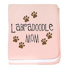Labradoodle Mom baby blanket