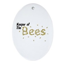 Keeper of the Bees Ornament (Oval)
