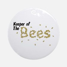 Keeper of the Bees Ornament (Round)