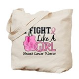 Fight like a girl Totes & Shopping Bags