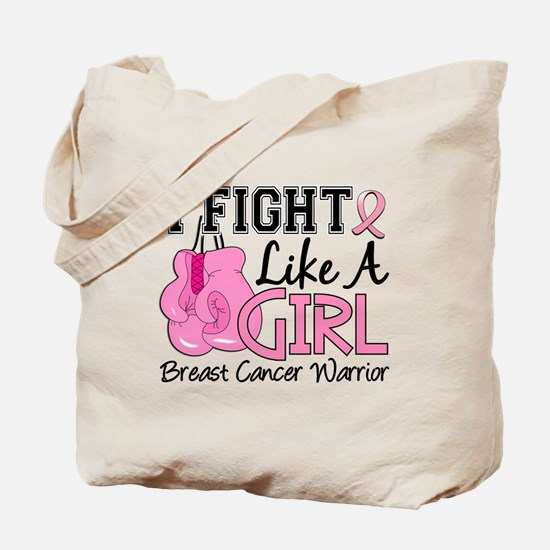 Licensed Fight Like a Girl 15.2 Tote Bag