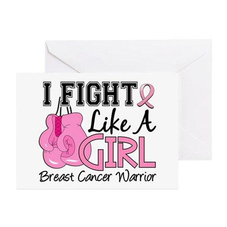 Licensed Fight Like a Gi Greeting Cards (Pk of 10)