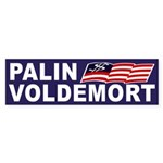 Palin-Voldemort 2012 Bumper Sticker