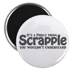 Scrapple Philly Thing Magnet