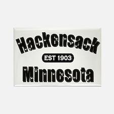 Hackensack Established 1903 Rectangle Magnet